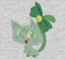 Green Kitty Kids Clothes
