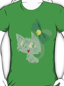 Green Kitty T-Shirt