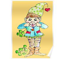 Little elf for luck Poster