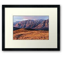 The Other Side of Las Vegas Framed Print