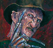 Freddy Krueger by Ashley Thorpe
