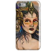 Fantasy girl iPhone Case/Skin
