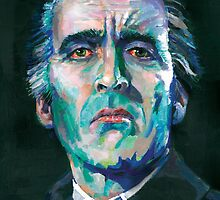 Dracula - Christopher Lee by Ashley Thorpe