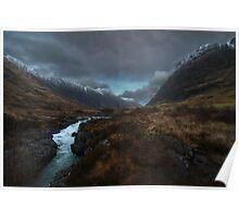 Glencoe Valley - Scotland Poster
