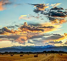 Sunset Madness Over The Colorado by Gregory J Summers