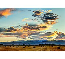 Sunset Madness Over The Colorado Photographic Print