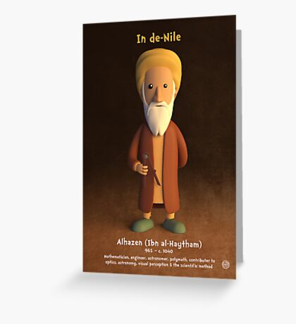Alhazen - In de-Nile Greeting Card
