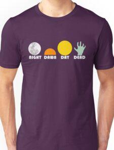 The Dead Trilogy 1968-1985 white print Unisex T-Shirt