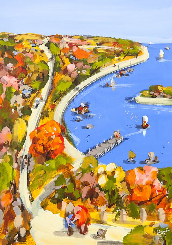 Blue Harbour by Adam Bogusz