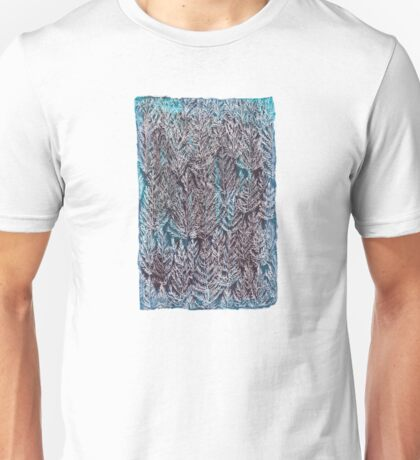 Snow Pines (Blue) Unisex T-Shirt