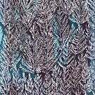 Snow Pines (Blue) by SuburbanBirdDesigns By Kanika Mathur