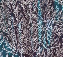 Snow Pines (Blue) Sticker