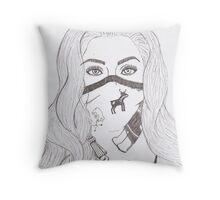 Gaga in Bulgaria. Throw Pillow