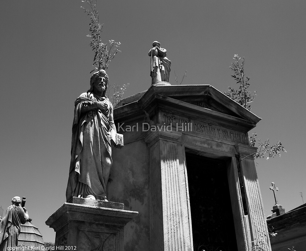 la recoleta cemetery 002 by Karl David Hill
