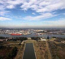 Houston Ship Channel by SuddenJim