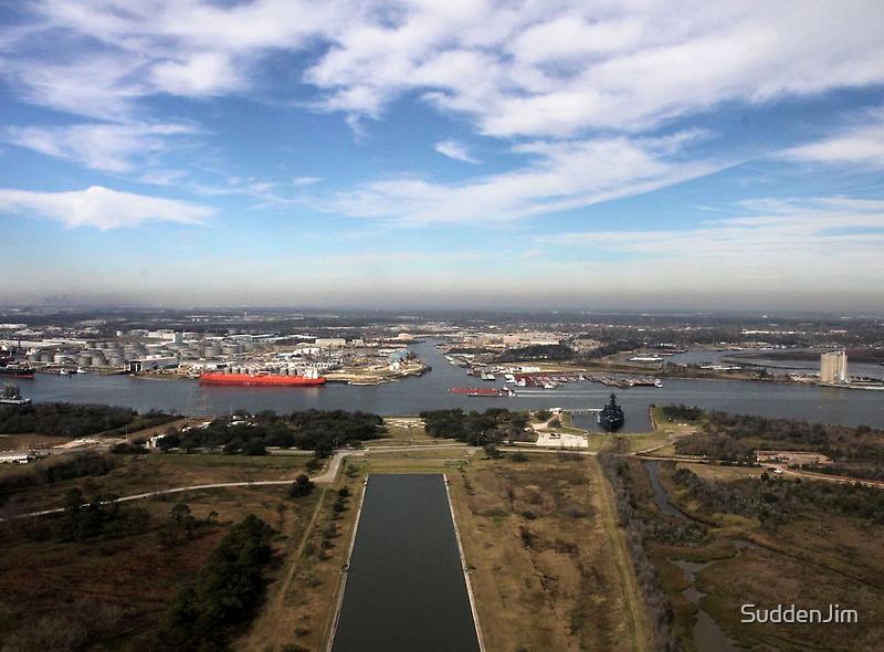 Houston Ship Channel by SuddenJim