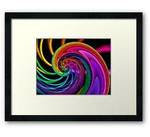 Radiance Dance Framed Print