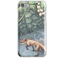 The Fox and the Grapes iPhone Case/Skin
