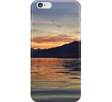 Sunset over the Black Cuillin's of Skye, Scotland. iPhone Case/Skin