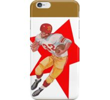 Retro Football Player   iPhone Case/Skin