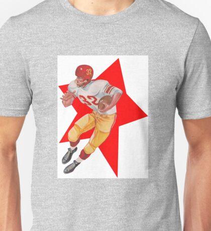 Retro Football Player   Unisex T-Shirt