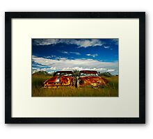 Brothers in Rust Framed Print