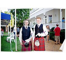 Redlands Sporting Club Pipe Band at Whepstead Manor Poster