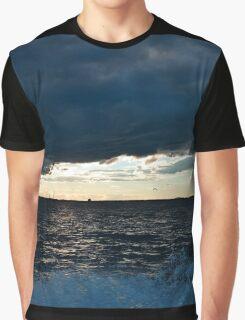 Stormy Skies Graphic T-Shirt