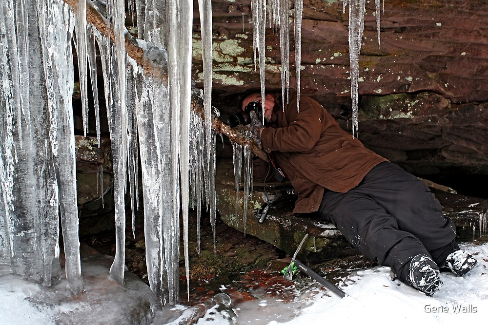 Shooting Icicles by Gene Walls