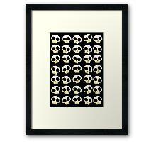 Skulls!!! Framed Print