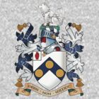 "James Bonds coat-of-arms and family motto ""The world is not enough""  by axletee"