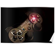 Playstation catching the light Poster