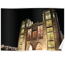 Indiana University Football Memorial Stadium North End Zone Poster
