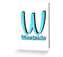Westside Burgers Greeting Card