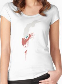 Darkrai Paint Splatter Women's Fitted Scoop T-Shirt