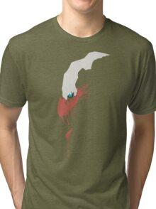 Darkrai Paint Splatter Tri-blend T-Shirt