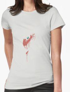 Darkrai Paint Splatter Womens Fitted T-Shirt
