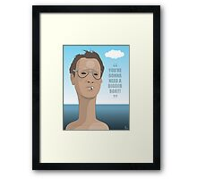 Chief Brody - Jaws Framed Print