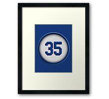 35 - Hoz Framed Print