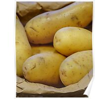 Tates... New Potatoes In A Paper Bag Poster