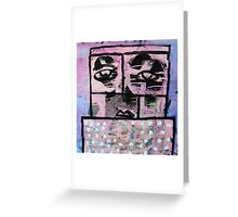 Pink Military Greeting Card