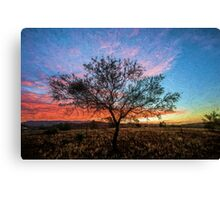 Outback Sunset         (EH) Canvas Print