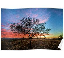 Outback Sunset         (EH) Poster