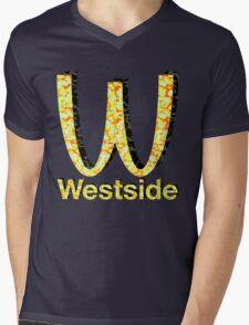 Westside Burgers Mens V-Neck T-Shirt