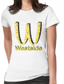 Westside Burgers Womens Fitted T-Shirt