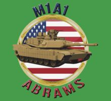 M1A1 Abrams  One Piece - Short Sleeve