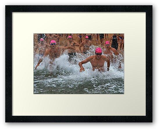 Warriewood Ocean Swim by Ian English