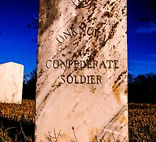 Unknown Confederate Soldier by Thomas Eggert
