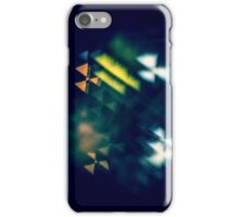 Abstract colourful lights iPhone Case/Skin