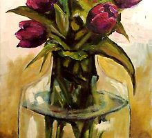 Just Tulips by Jim Phillips
